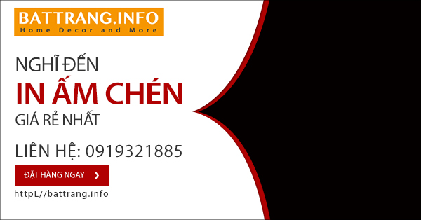 AM CHEN IN LOGO BAT TRANG