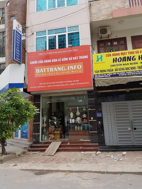 cua hang gom su bat trang o Ha Dong